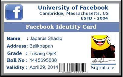 membuat id card naruto sazori 013 my blogger cara membuat id card facebook