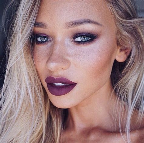 blonde hair purple lipstick 1000 images about love that luscious lipstick on