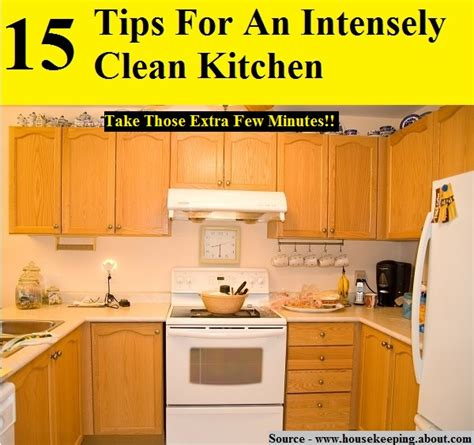 9 practical kitchen cleaning tips from a busy mom 15 tips for an intensely clean kitchen home and life tips