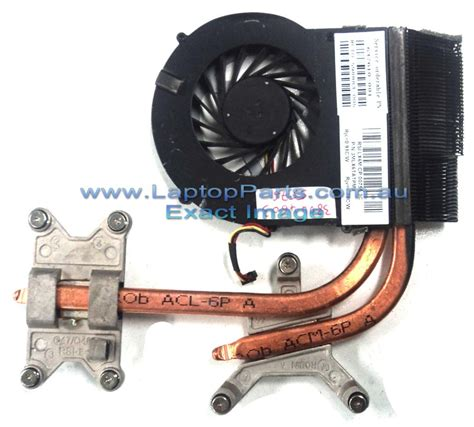Hp Pavilion Dv6 Dv7 Replacement Laptop Heatsink And Fan
