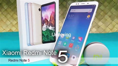 xiaomi redmi note 5 unboxing look redmi