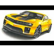 Camaro Transformers Drawing By Adonis Alcici  YouTube