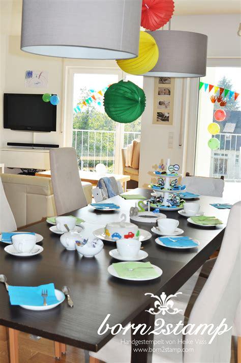 Car Decoration For Birthday Auto Party Deko Born2stamp Heike Vass