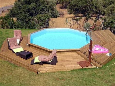 piscine fuori terra rivestite in legno oltre 25 fantastiche idee su piscine fuori terra su