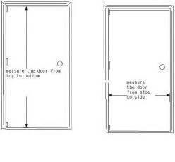 door size image for print standard front door size