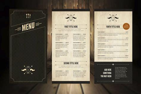 templates for restaurant menus 29 delicious menu templates for restaurants cafes