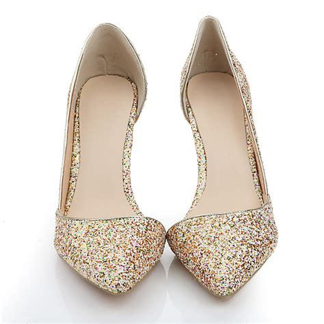 Beautiful Wedding Shoes For by 2015 New Beautiful Wedding Shoes Handmade Colorful Glitter