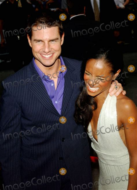 Pinkett Supports Tom Cruise by Photos And Pictures Tom Cruise Pinkett Smith