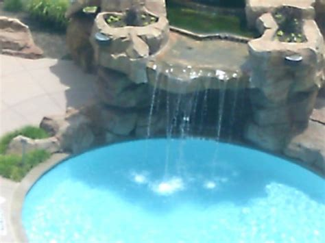 Winstar Casino Floor Plan waterfall aerial view from 9th floor picture of winstar