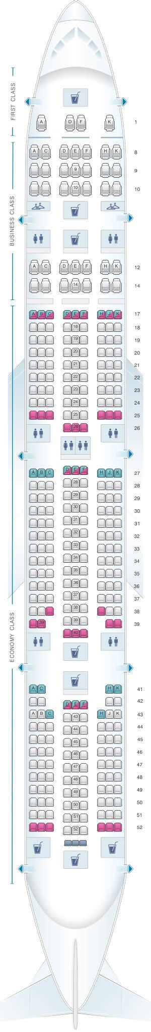 ai 101 seat map plan de cabine air india boeing b777 300er seatmaestro fr