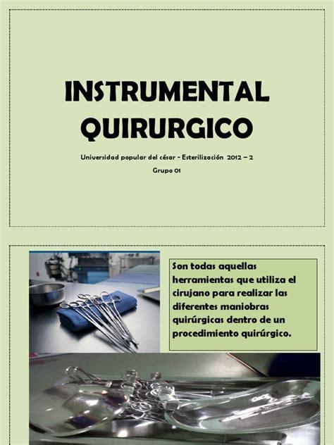 libro instrumental libro de instrumental