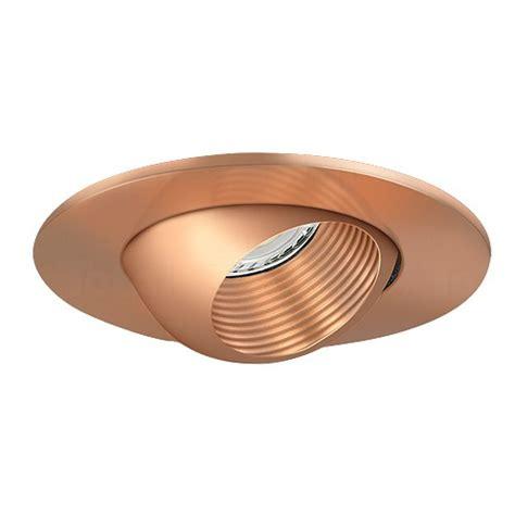 3 quot low voltage recessed lighting copper baffle copper