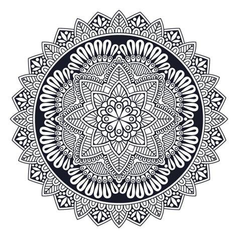 imagenes en blanco y negro de mandalas bonito mandala blanco y negro descargar vectores gratis