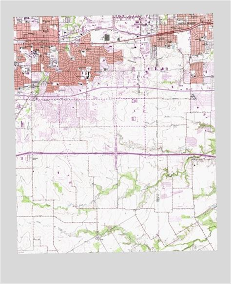 where is arlington texas on the map arlington tx topographic map topoquest
