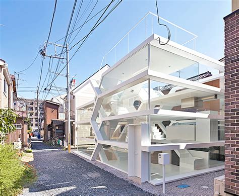 house see through s house is a see through glass home with an m c escher
