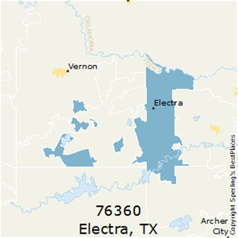 electra texas map best places to live in electra zip 76360 texas