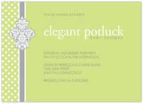 invitations elegant potluck at minted com