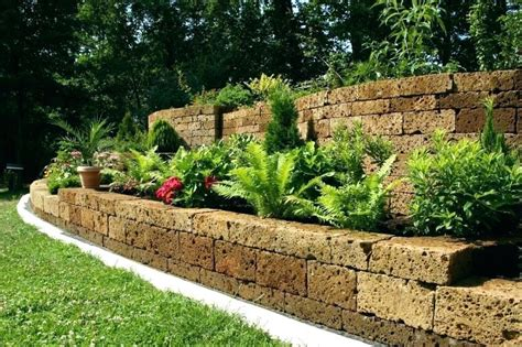 modern inexpensive retaining wall ideas gift wall