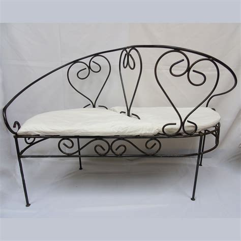 kissing bench wrought iron kissing bench american party rentalamerican