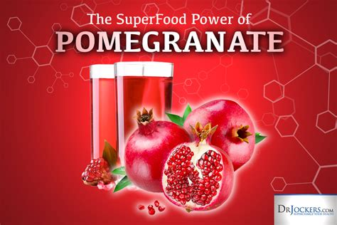 Test Pomegranate Detox by The Superfood Power Of Pomegranate