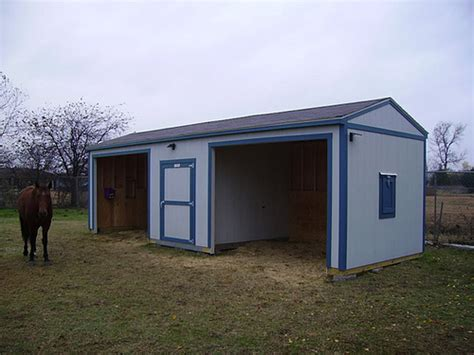 Shed Ranch by Premier Ranch Loafing Shed 12x28 Premier Ranch