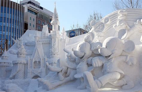 wallpaper for walls japan snow sculpture wallpaper 19463 open walls