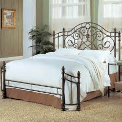 Iron Bed Frame Bed Iron Size Bed Frame Bedroom Scroll Metal