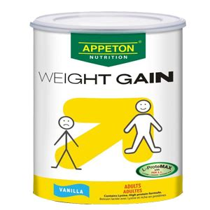 Appeton Weight Gain 250gr by Dortemag Ventures Ltd Home