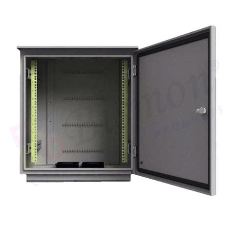 Rack Outdoor by 19 Quot Wall Rack 12u Outdoor Fiber Optic 50cm Bismon