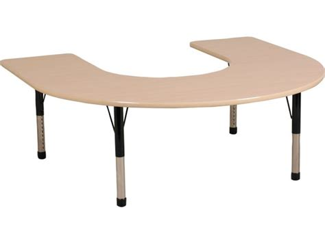 horseshoe for classroom ecr4kids adjustable height horseshoe classroom 60x66