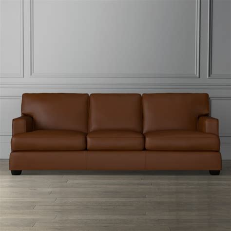Jackson Leather Sofa Jackson Leather Sofa Williams Sonoma