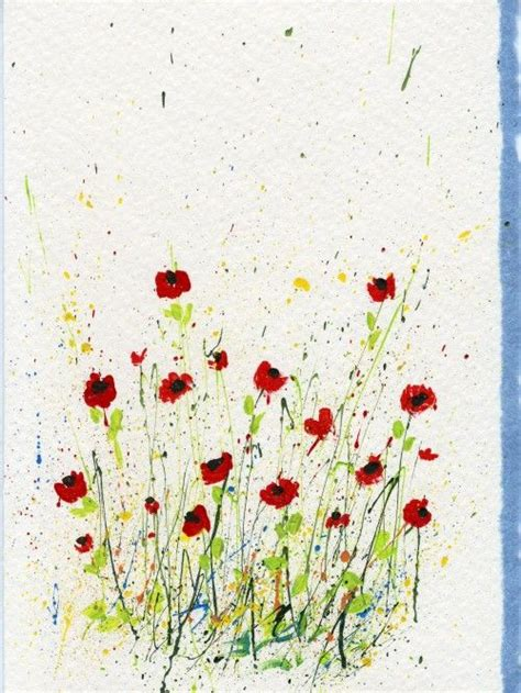 Flowers Gift Card - 1000 ideas about painted flowers on pinterest painting flowers paint flowers and