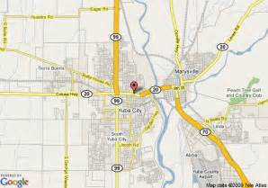 map of knights inn yuba city yuba city