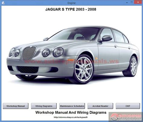 jaguar s type 2000 2008 workshop repair manual for sale carmanuals com jaguar s type 2003 2008 auto repair manual forum heavy equipment forums download repair