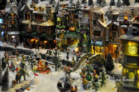 imagenes adorns navidad en miniatura 161 crea y decora tu propio pueblo de navidad con lemax albina bosch
