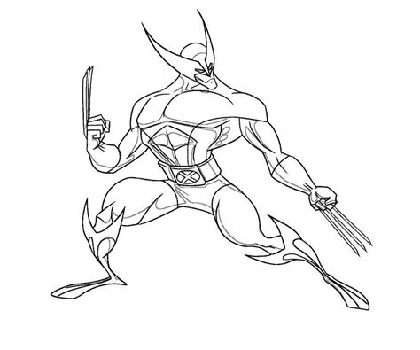 wolverine coloring pages for free wolverine coloring page coloring home