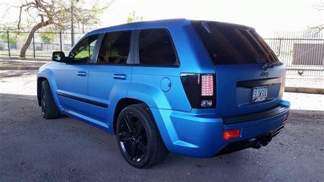 matte light blue jeep jeep grand 3m matte metallic blue vinyl wrap