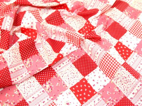 Patchwork Print - patchwork print polycotton dress fabric ep 216 m ebay