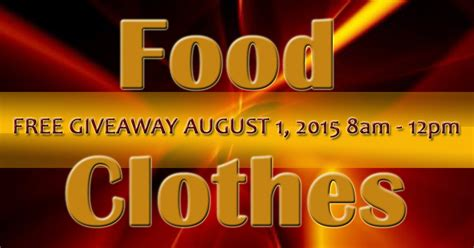 Clothes Giveaways - food clothes giveaway oaks true holiness church theme