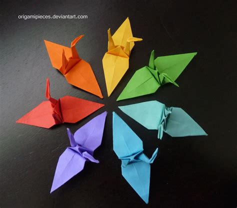 The Crane Origami - origami cranes by origamipieces on deviantart