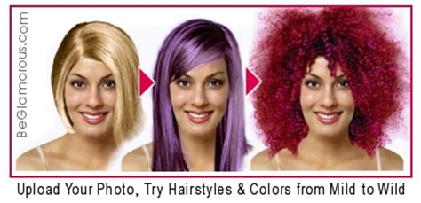change hair color online purple hairstyles upload your photo try virtual