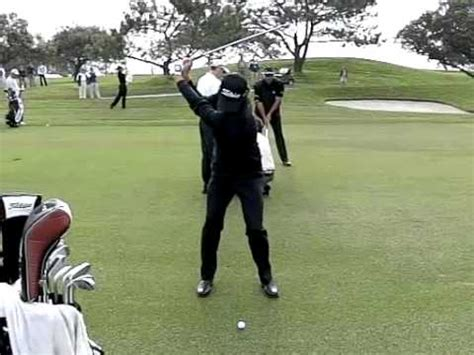 slow motion golf swing adam scott adam scott driver golf swing at masters 2011 with slow