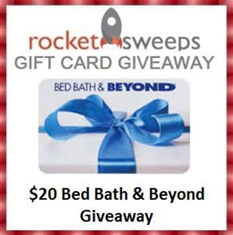 bed bath and beyond sweepstakes bed bath beyond cus ready sweepstakes plus instant win