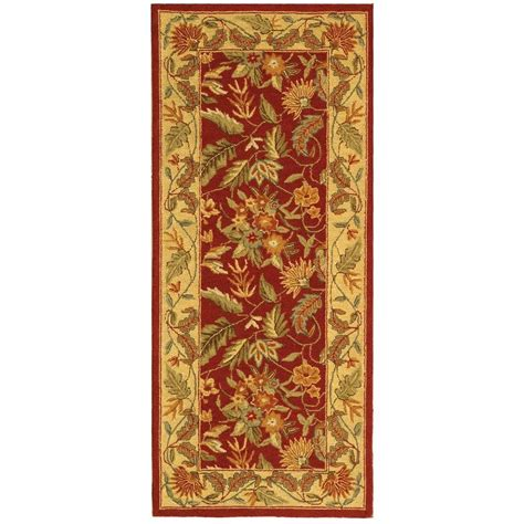Safavieh Chelsea Red 2 Ft 6 In X 6 Ft Rug Runner Hk141c 6 Foot Rugs