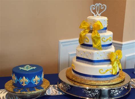 Royal Blue And Peach Wedding Decorations
