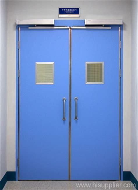 electrical room door swing double open automatic swing steel doors for hospitals from