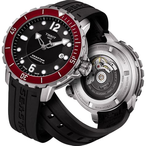 tissot dive watches tissot s t sport seastar 1000 automatic diver s