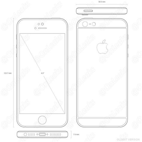 I Phone Sketches by Alleged 4 Inch Iphone Drawings Leaked