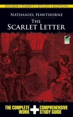the scarlet letter bilingual edition and edition books the scarlet letter thrift study edition nathaniel