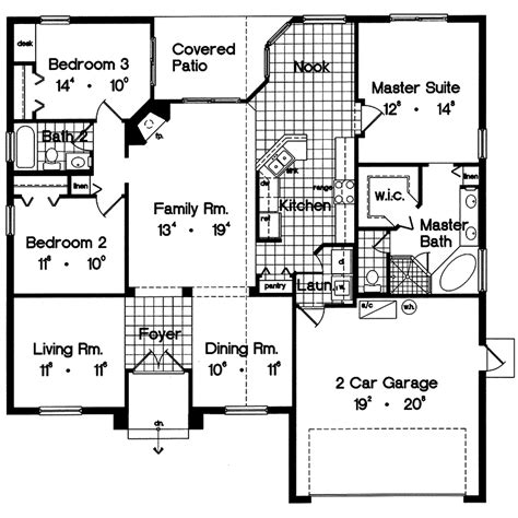 modern ranch floor plans bay pines modern ranch home plan 047d 0017 house plans